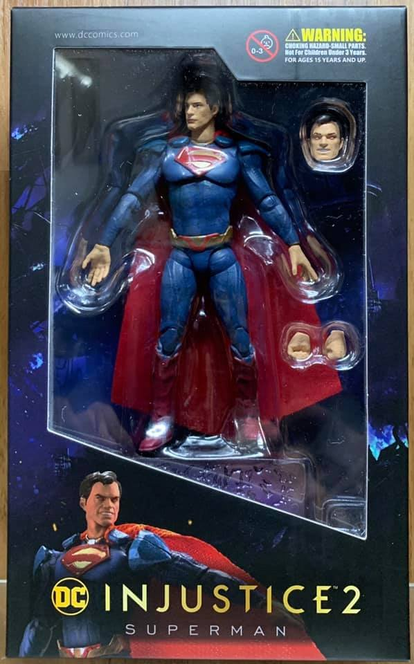 HIYA TOYS INJUSTICE 2 SUPERMAN 1//18 SCALE ACTION FIGURE