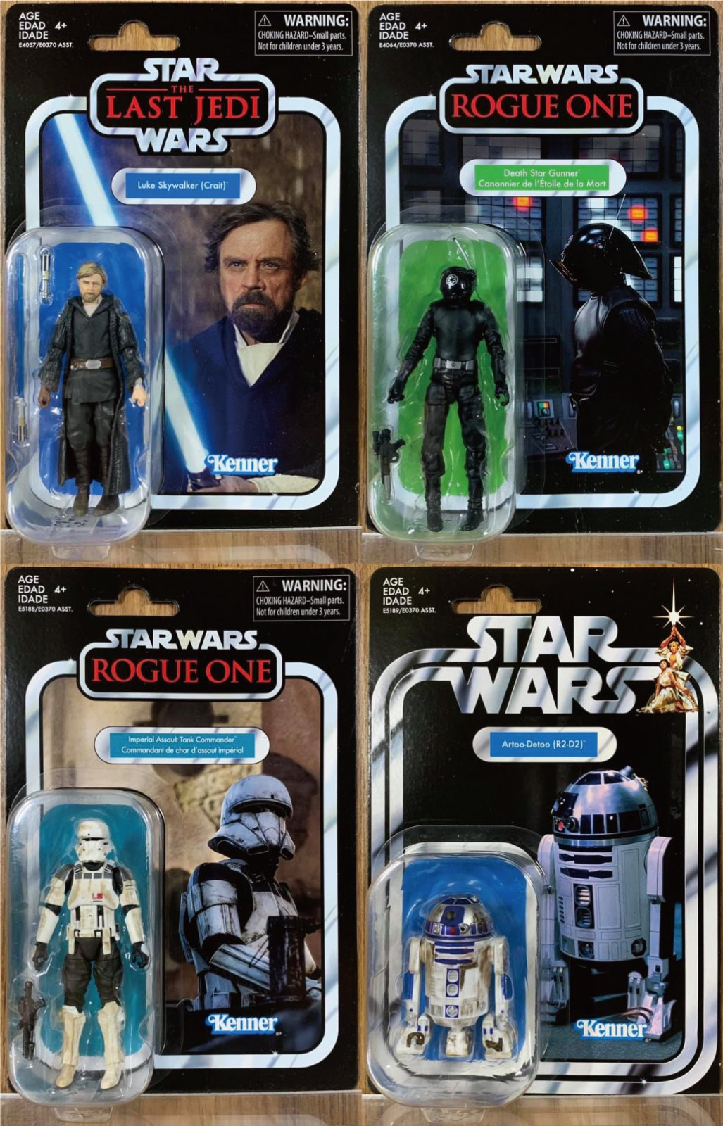 Star Wars Mandolorian and The Child Custom 3.75 Vintage Kenner Style Figure set!